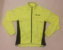 Mens Hi Visibility Cycling Jacket Uk Small And039ride London Tour De France Wigginsand039
