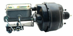 8 Dual Bendix Style Power Booster Ford Master Cylinder Universal Adj. Valve