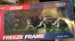 Kenner Starting Lineup Nolan Ryan Freeze Frame W/ Acrylic Case Special Edition