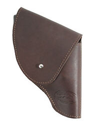 New Barsony Brown Leather Flap Holster Snub Nose 2