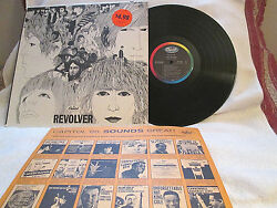 The Beatles Revolver..and03966 Stereo Brit-pop-psych Promo Shrink W/price Nm/ex+