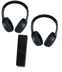 Headphones And Dual View Dvd Remote For 2011 And 2012 Infiniti Qx56