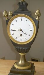 French First Empire 1804-1814 Bronze Mantel Clock