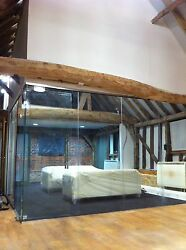 Easy Frameless Glass Partitioning At The Best Prices - Toughened Glass