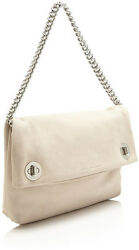 NWT STUNNING RARE BEIGE Marc Jacobs Hold Tight Chain Clutch Suede $328.00 $199.00