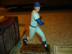 Milt Pappas Hartland Figure Perfect Condition Signed With Box And Coa