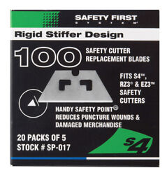 Blade Rplcmnt S3-s4 Kivs By Pacific Handy Cutter Mfrpartno Sp-017,pk 2, Sp059a5