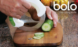 Bolo The Rolling Kitchen Knife Factory Direct And Authentc W/1 Additional Blade