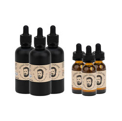 Hand Crafted Beard Oil By Lusso Sapone 3 Pack - 8 Scents - 2 Sizes Available