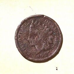 Usa One Cent 1907 Indian Head - Low Ball - Pocket Piece - Lucky Coin