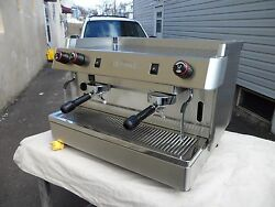 New 2 Group Stainless Steel Commercial Espresso Cappuccino Machine Handmade