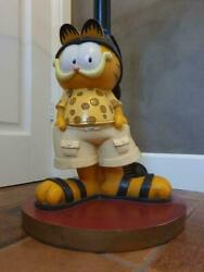 Extremely Rare Garfield Lifesize Table Figurine Statue