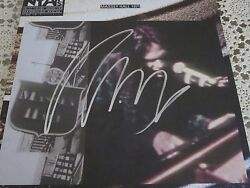 NEIL YOUNG SIGNED LIVE AT MASSEY HALL VINYL ALBUM COVER WJSA AUTHENTICATION