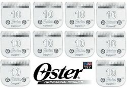 Wholesale Lot 10-oster A5 Cryogenx 10 Bladefit A6,andis Agc,many Wahl Clippers