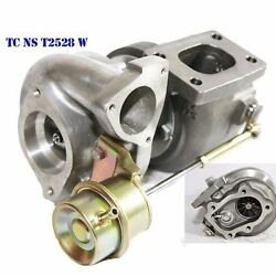 Oil/water Cooled Hybrid Turbo T25/t28 2 Inlet 2bolt Flange For 240sx Sr20 Ca18