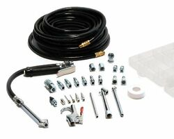 Garage Tire Inflator with Air Compressor Accessory Kit and 50 ft. Air Hose 20
