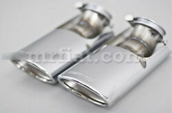 Mercedes G-wagon Genuine Amg W463 G500 G550 G63 G65 Tail Pipe Cover Set New
