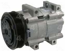 Factory Air by 4 Seasons New Ford FS10 Compressor w/ Clutch 58146