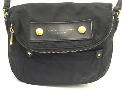 1B2b Marc By Marc Jacobs Preppy Nylon Mini Natasha Bag  Crossbody Black Women