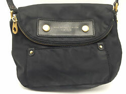 1B2d Marc By Marc Jacobs Preppy Nylon Mini Natasha Bag  Crossbody Black Women