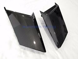 Lamborghini Aventador Carbon Fiber Side Window Engine Air Intakes / Vents Usa