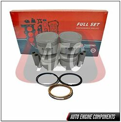 Full Gasket Set, Piston And Ring Fits Dodge Cordia Galant 2.0 L 4g63 Fpr019