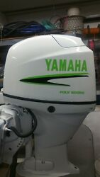 Yamaha Outboard Black And Lime Green Marine Vinyl Kit 40 Hp Message For 50-90hp