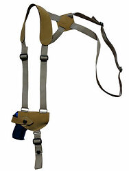 NEW Barsony Natural Tan Leather Shoulder Holster Kel-Tec Ruger Kahr Mini 32 380