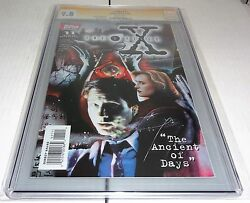 X-files 11 Cgc Ss 9.8 Signature Autograph David Duchovny Signed Comics Topps 🔥