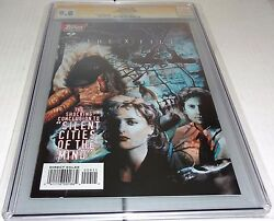 X-files 9 Cgc Ss 9.8 Signature Autograph David Duchovny Signed Topps Comics 🔥