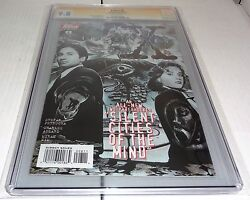 X-files 8 Cgc Ss 9.8 Signature Autograph David Duchovny Signed Topps Comics