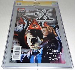 X-files 11 Cgc Ss 9.8 Signature Autograph David Duchovny Signed Topps Comics 🔥