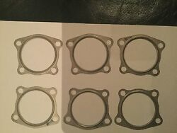 New Continental 4 Hole Exhaust Gaskets Stainless 631544 Aircraft Airboat Engine