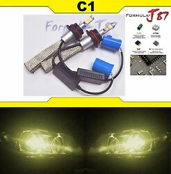 LED Kit C1 60W 9004 HB1 3000K Yellow Head Light DUAL BEAM UPGRADE DIY COLOR
