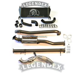 Legendex 3 Stainless Exhaust And Intercooler B For Mazda Bt50 Ford Ranger Px 3.2l