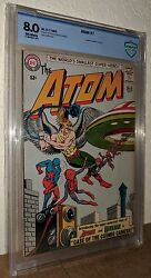The Atom 7 1st Atom And Hawkman Team-up Ray Palmer Justice League 8.0vf Dc 1963