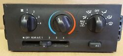2000 MERCURY VILLAGER CLIMATE CONTROL AC/HEATER SWITCH MANUAL
