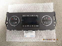 07 - 11 CHEVY SILVERADO AC HEATER CLIMATE TEMPERATURE CONTROL OEM BRAND NEW