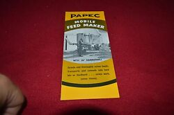 Papec Feed Grinder Mixer Dealers Brochure Yabe13