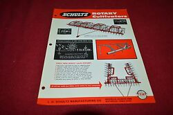 Schultz Rotary Cultivators Dealers Brochure Yabe13