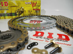 Suzuki Gsxr750 2004 - 2005 Did Vx525 Extended Length 150l Chain And Sprocket Kit
