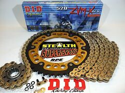 Zx-10r And03906-07 Zx10 Supersprox / Did Zvmx 520 Chain And Sprocket Kit Quick Accel