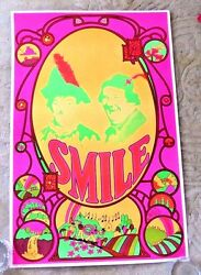 Vintage Lovely Poster Smile Love Beatles Sgt Pepper Lonly Heart Club Band 1969