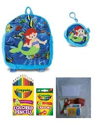 Plush Mermaid Backpack Coin Purse And a Surprise Gift For Children Entering And