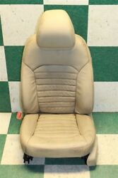 13-15 Fusion Tan Leather Left Front Driver Bucket Seat Power Track Side Airbag