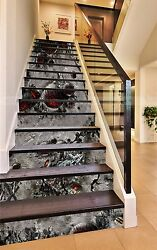 3d Planet Ground 3 Stairs Risers Decoration Photo Mural Vinyl Decal Wallpaper Us