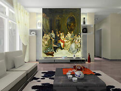 3d Dinner Party 928 Wall Paper Wall Print Decal Wall Deco Indoor Wall