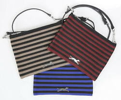 BIMBA Y LOLA CROSS BODY BAG STRIPE BLUE BOLSOS CARTERA WOMEN CROSSBODY $69.99