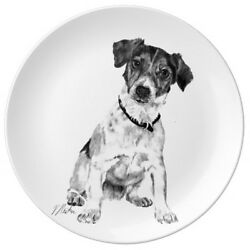 Porcelain Plate - Jack Russell Terrier