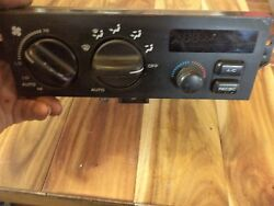 1996 - 1998 JEEP GRAND CHEROKEE AC HEATER CLIMATE CONTROL PN 55036395